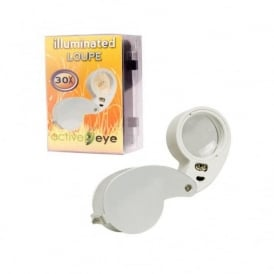 Active Eye Illuminated Loupe 30x