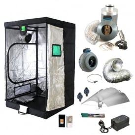 BudBox Advanced Grow Tent Kit (120x120x200cm Tent)