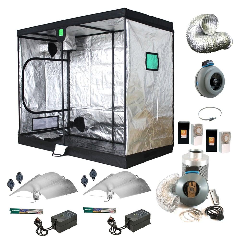Advanced Grow Tent Kit (240x120x200cm Tent)  sc 1 st  Great Stuff Hydroponics & Advanced Grow Tent Kit (240x120x200cm Tent) - Great Stuff Hydroponics