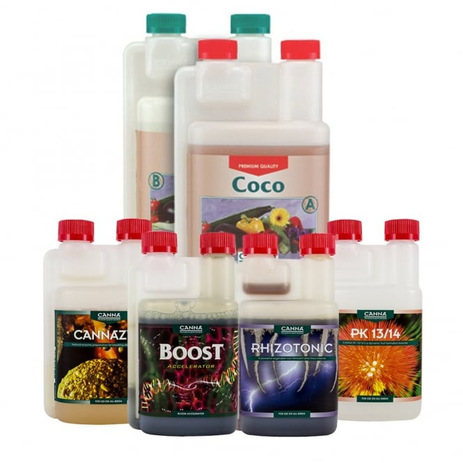 Canna Coco Nutrient Starter Kit (1 Litre)