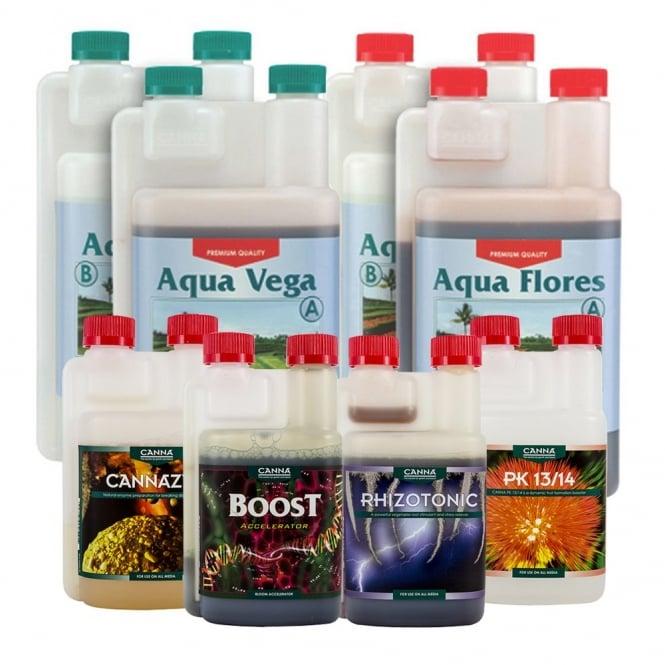 Canna Hydro Nutrient Starter Kit (1 Litre)