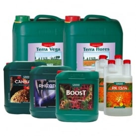 Canna Soil Nutrient Kit (10 Litres)