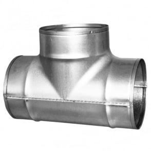 Ventilation Accessories Equal T-Piece (Various Sizes)