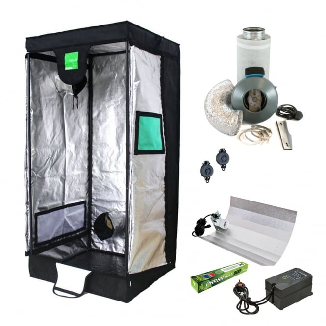 Hobby Grow Tent Kit (100x100x200cm Tent)  sc 1 st  Great Stuff Hydroponics & Hobby Grow Tent Kit (100x100x200cm Tent) - Great Stuff Hydroponics