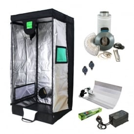 BudBox Hobby Grow Tent Kit (100x100x200cm Tent)
