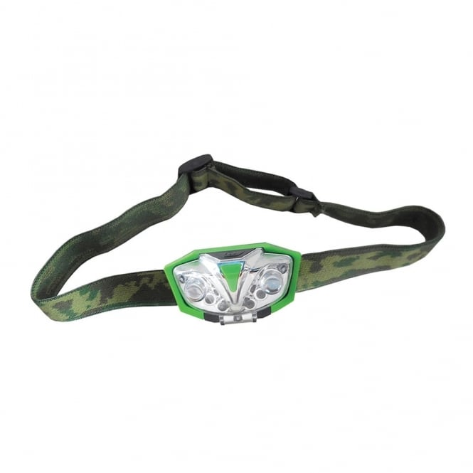 Green LED Head Torch