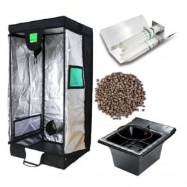 Mother Plant / Cuttings Grow Tent Kit (75x75x160cm Tent)