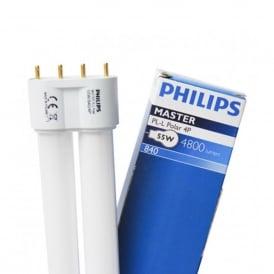 Philips Master PL-L 55W/840/4P 4000K Cool White CFL