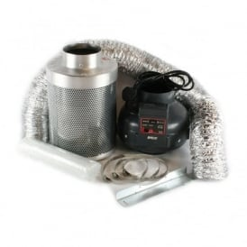 "Rhino Pro Rhino 4"" (100mm) Ventilation Kit (Thermostatically Controlled Fan)"