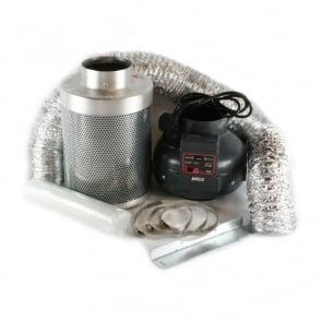 """Rhino Pro Rhino 4"""" (100mm) Ventilation Kit (Twin Speed Fan)"""