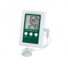 Therma-Hygrometer with Max/Min & Alarm Functions