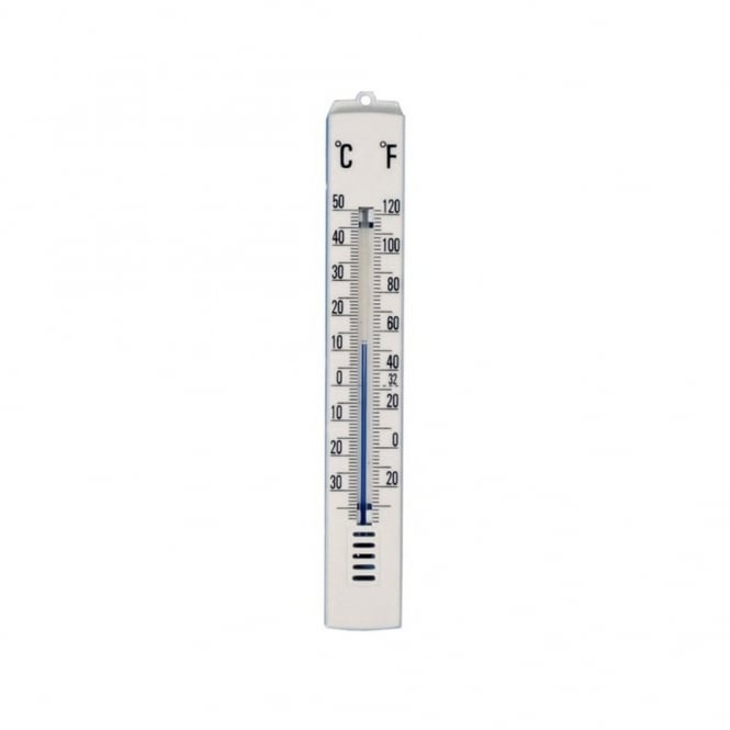 Wall-Mountable Room Thermometer (25 x 175mm)